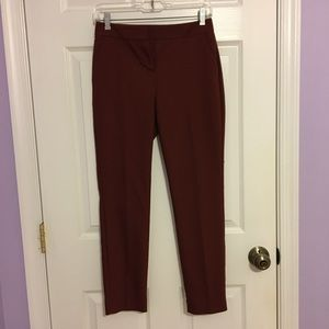 Copper Columnist pants from Express